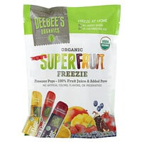 Deebees Organic, Superfruit Freezie,多種味道,10 根,每根 1.35 液量盎司(40 毫升)