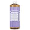 Dr. Bronner's, 18-in-1 Hemp Pure-Castile Soap, Lavender, 32 fl oz (946 ml)