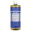 Dr. Bronner's, 18-in-1 Hemp Pure-Castile Soap, Peppermint, 32 fl oz (946 ml)