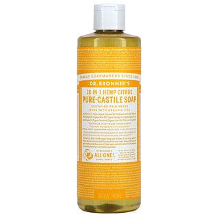 Dr. Bronner's, 18-in-1 Hemp, Pure-Castile Soap, Citrus, 16 fl oz ( 473 ml)