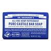 Dr. Bronner's, Pure Castile Bar Soap, All-One Hemp, Peppermint, 5 oz (140 g)