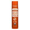Dr. Bronner's, Organic Lip Balm, Orange Ginger, 0.15 oz (4 g)