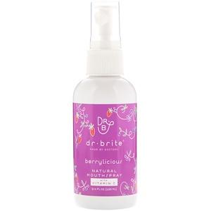 Dr. Brite, Natural Mouth Spray, Berrylicious, 3.4 fl oz (100 ml) отзывы