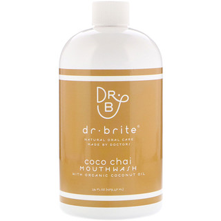 Dr. Brite, Mouthwash with Organic Coconut Oil, Coco Chai, 16 fl oz (473.17 ml)