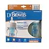 Dr. Brown's, Natural Flow, Wide-Neck, 0 + Months, 3 Pack Bottles, 8 oz (240 ml) Each