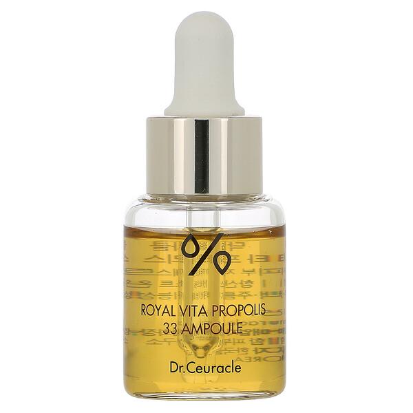 Dr. Ceuracle, Royal Vita Propolis, 33 Ampoule, 0.51 fl oz (15 ml) (Discontinued Item)