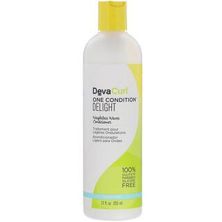 DevaCurl, One Condition 清爽無重護髮素,12 液量盎司(355 毫升)