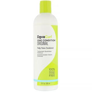 DevaCurl, One Condition 系列原創柔滑護髮素,12 液量盎司 (355 毫升)