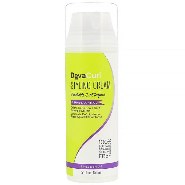 Styling Cream, Touchable Curl Definer, Define & Control, 5.1 fl oz (150 ml)