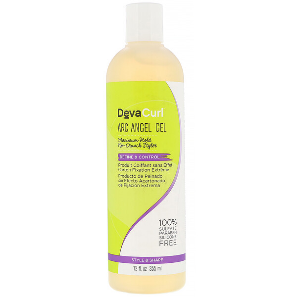 DevaCurl, Arc Angel Gel, Maximum Hold, No-Crunch Styler, 12 fl oz (355 ml)