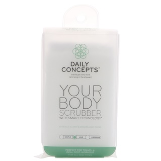 Daily Concepts, Your Body Scrubber, Mild, 1 Scrubber