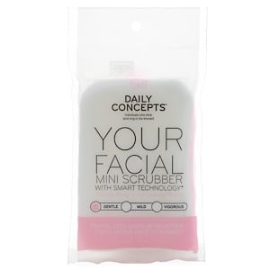 Daily Concepts, Your Facial Mini Scrubber, Gentle, 1 Scrubber отзывы