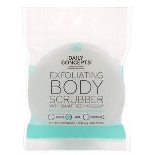 Daily Concepts, Exfoliating Body Scrubber, Mild, 1 Scrubber