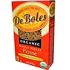 DeBoles, Organic Whole Wheat Penne, 8 oz (226 g) (Discontinued Item)