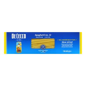 De Cecco, Spaghetti No 12, 1 lb (453 g)