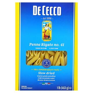 De Cecco, Penne Rigate No. 41, 1 lb (453 g)