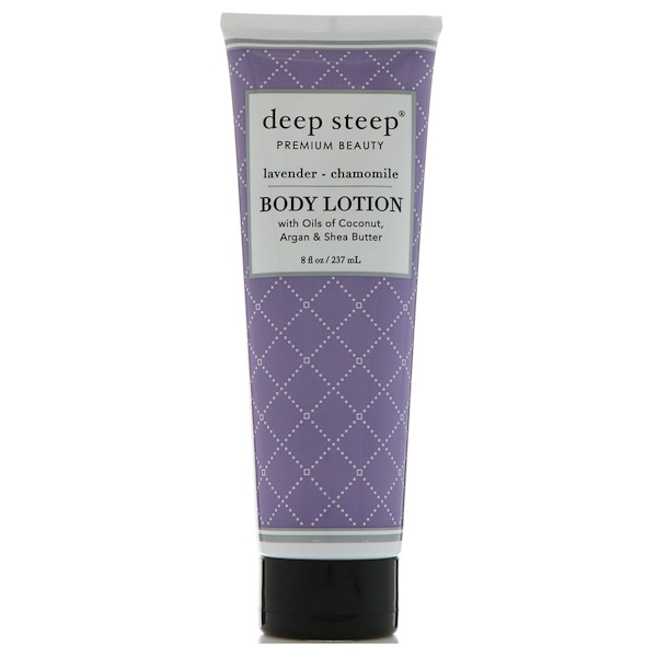Deep Steep, Body Lotion, Lavender - Chamomile, 8 fl oz (237 ml) (Discontinued Item)