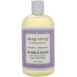 Дип Стип, Bubble Bath, Lavender — Chamomile, 17 fl oz (503 ml) отзывы