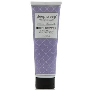 Дип Стип, Body Butter, Lavender — Chamomile, 8 fl oz (237 ml) отзывы покупателей
