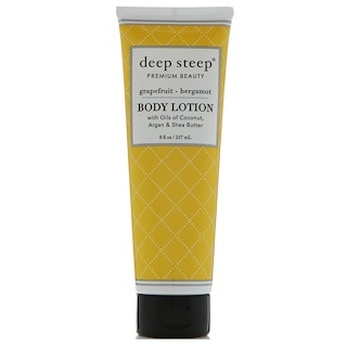 Deep Steep, Body Lotion, Grapefruit - Bergamot, 8 fl oz (237 ml)
