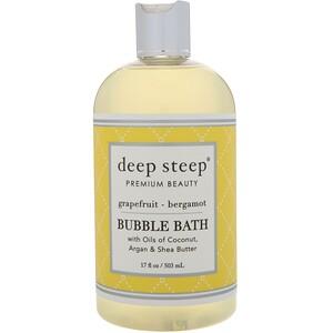 Дип Стип, Bubble Bath, Grapefruit — Bergamot, 17 fl oz (503 ml) отзывы