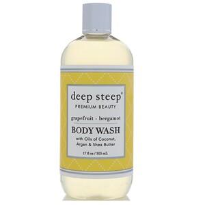 Дип Стип, Body Wash, Grapefruit — Bergamot, 17 fl oz (503 ml) отзывы