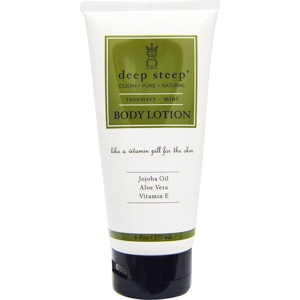 Deep Steep, Body Lotion, Rosemary - Mint, 8 fl oz (237 ml) (Discontinued Item)