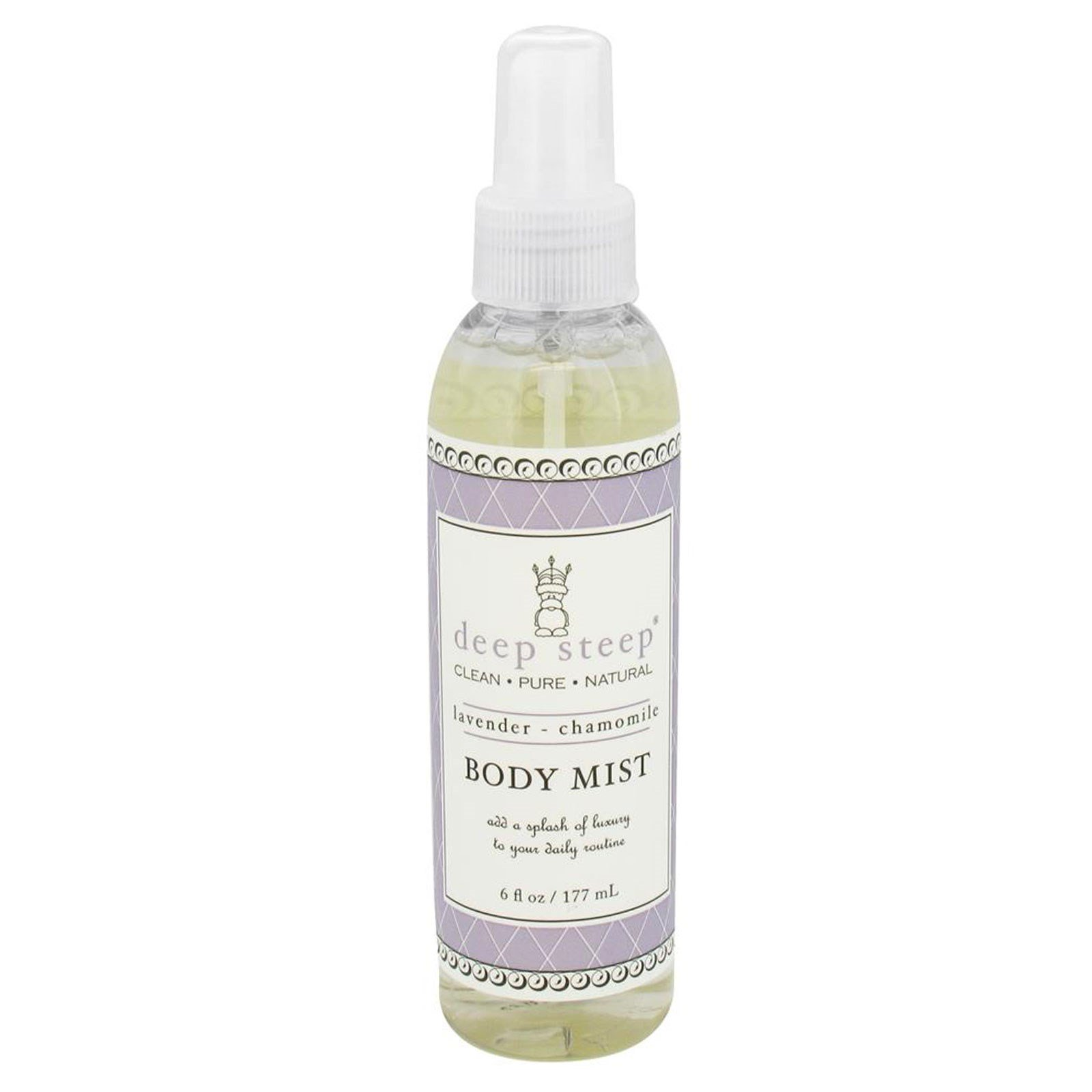 Deep Steep, Body Mist, Lavender - Chamomile, 6 fl oz (177 ml)