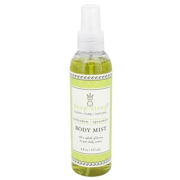 Deep Steep, Body Mist, Honeydew - Spearmint, 6 fl oz (177 ml) (Discontinued Item)