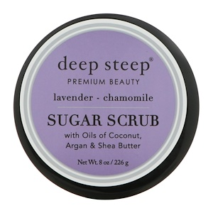 Дип Стип, Sugar Scrub, Lavender — Chamomile, 8 oz (226 g) отзывы покупателей