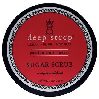 Deep Steep, Sugar Scrub, Fruta de la Pasión y Guava, 8 oz (226 g)