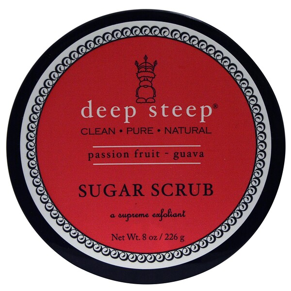Sugar Scrub, Passion -  Fruit Guava, 8 oz (226 g)