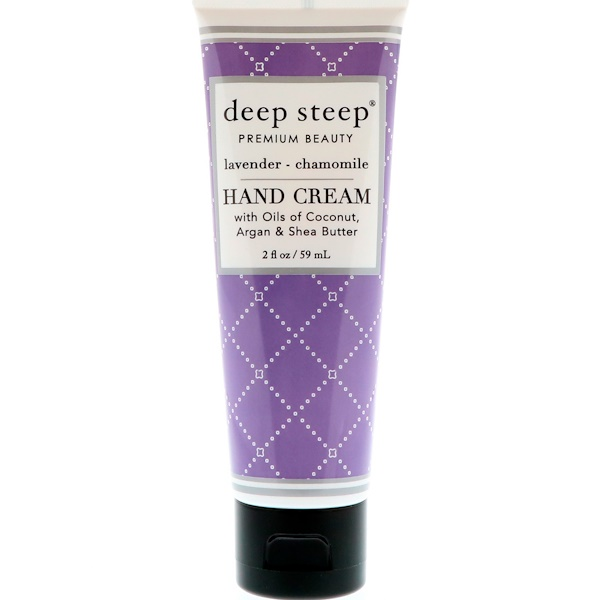 Deep Steep, Crema para manos, lavanda y manzanilla, 59 ml (2 fl oz)