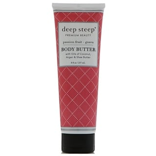 Deep Steep, Body Butter, Passion Fruit - Guava, 8 fl oz (237 ml)