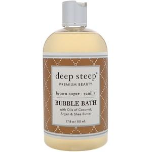 Дип Стип, Bubble Bath, Brown Sugar — Vanilla, 17 fl oz (503 ml) отзывы