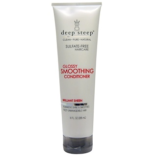 Deep Steep, Glossy Smoothing Conditioner, Brilliant Sheen, 10 fl oz (295 ml)