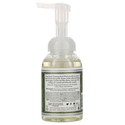 Пенящееся средство для мытья рук, розмарин - мята, 8 жидких унций (237 мл)