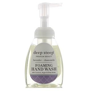 Deep Steep, Foaming Hand Wash, Lavender - Chamomile, 8 fl oz (237 ml)