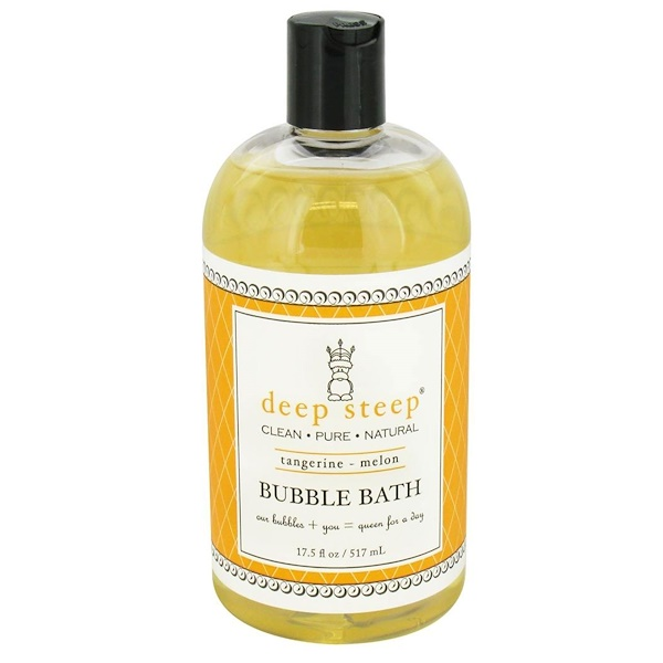 Deep Steep, Bubble Bath, Tangerine - Melon, 17.5 fl oz (517 ml) (Discontinued Item)