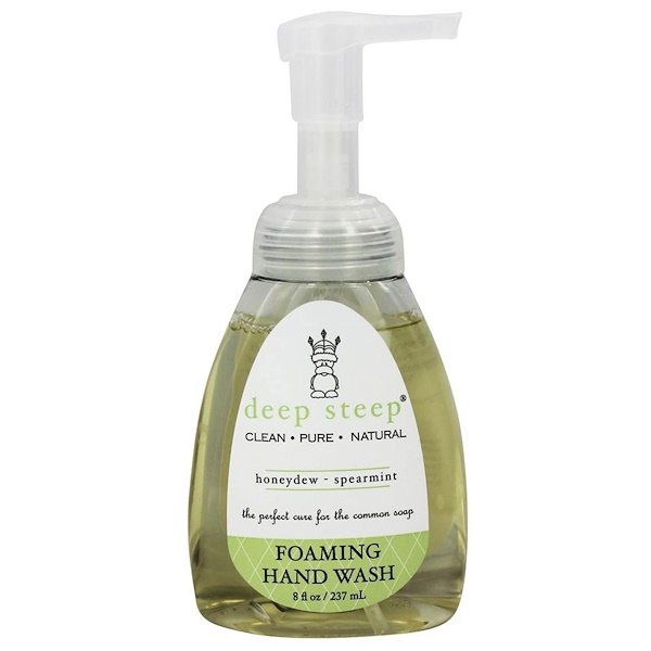 Deep Steep,  Foaming Handwash, Honeydew Spearmint, 8 fl oz (237 ml) (Discontinued Item)