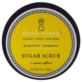 Deep Steep, Sugar Scrub, Grapefruit - Bergamot, 8 oz (226 g)