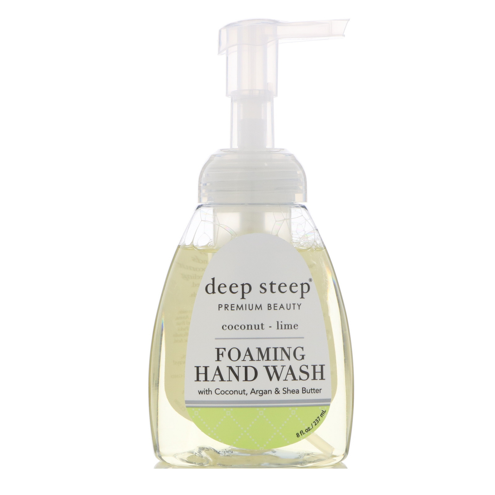 Deep Steep, Средство для мытья рук с аргановым маслом, кокос и лайм, 8 жидких унций (273 мл)
