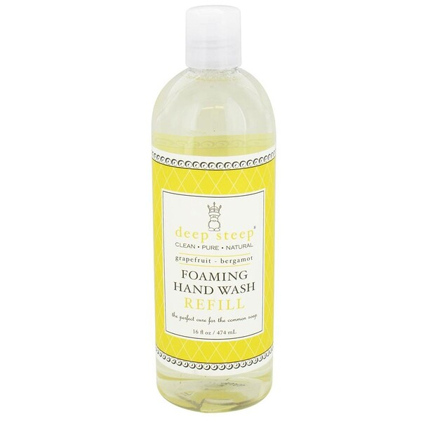 Foaming Hand Wash Refill, Grapefruit - Bergamot, 16 fl oz (474 ml)