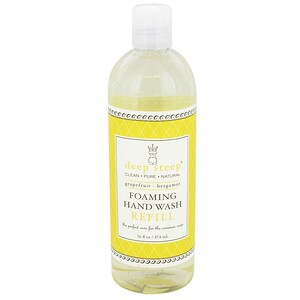 Дип Стип, Foaming Hand Wash Refill, Grapefruit — Bergamot, 16 fl oz (474 ml) отзывы покупателей