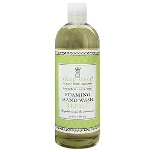Дип Стип, Foaming Hand Wash Refill, Honeydew-Spearmint, 16 fl oz (474 ml) отзывы