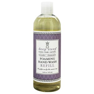 Дип Стип, Foaming Hand Wash, Refill, Lavender — Chamomile, 16 fl oz (474 ml) отзывы покупателей