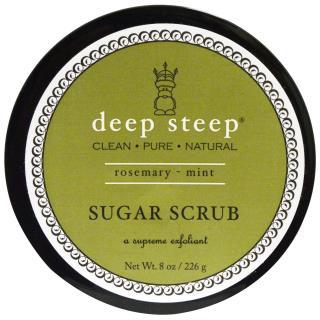 Deep Steep, Sugar Scrub, Rosemary - Mint, 8 oz (226 g)