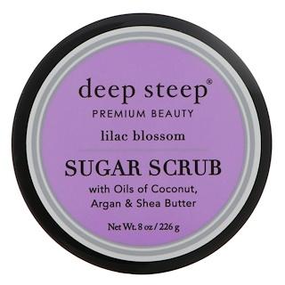 Deep Steep, Sugar Scrub, Lilac Blossom, 8 oz (226 g)