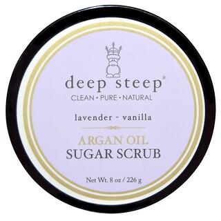 Deep Steep, Sugar Scrub, Lavender - Vanilla, 8 oz (226 g)