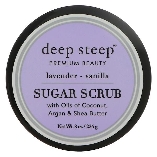 Sugar Scrub, Lavender - Vanilla, 8 oz (226 g)